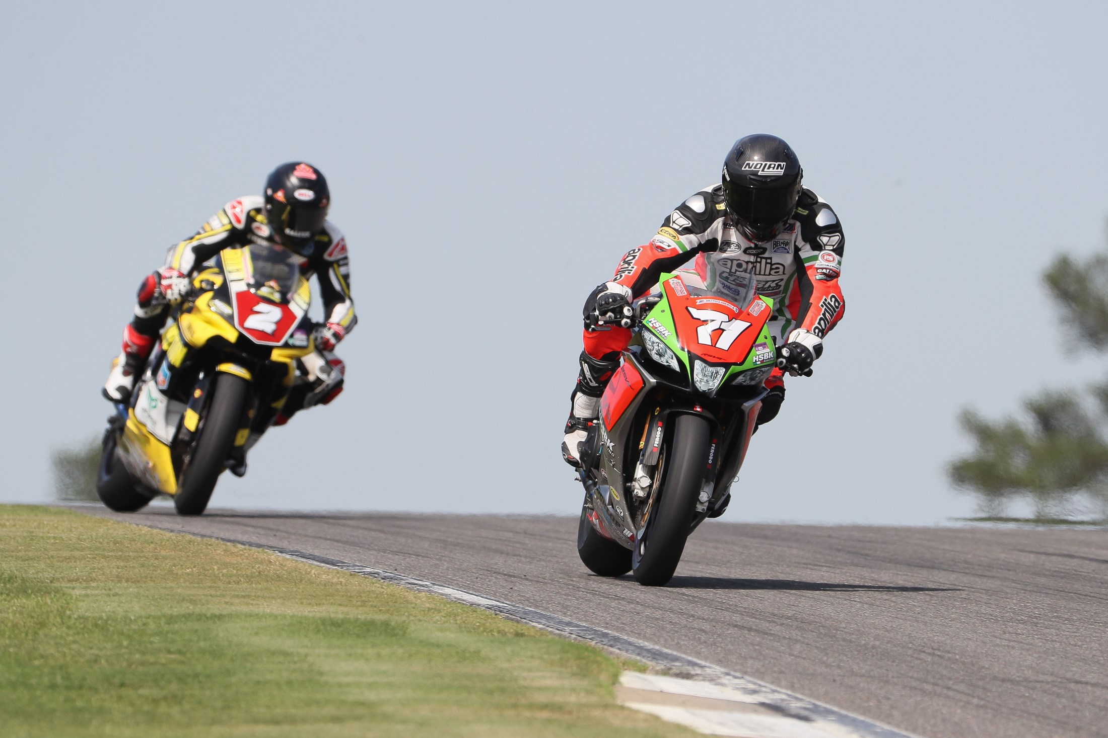 BARBER ROUND PROVES CHALLENGING FOR APRILIA HSBK RACING, BUT TEAM REMAINS FOCUSED ENTERING FINAL THREE ROUNDS