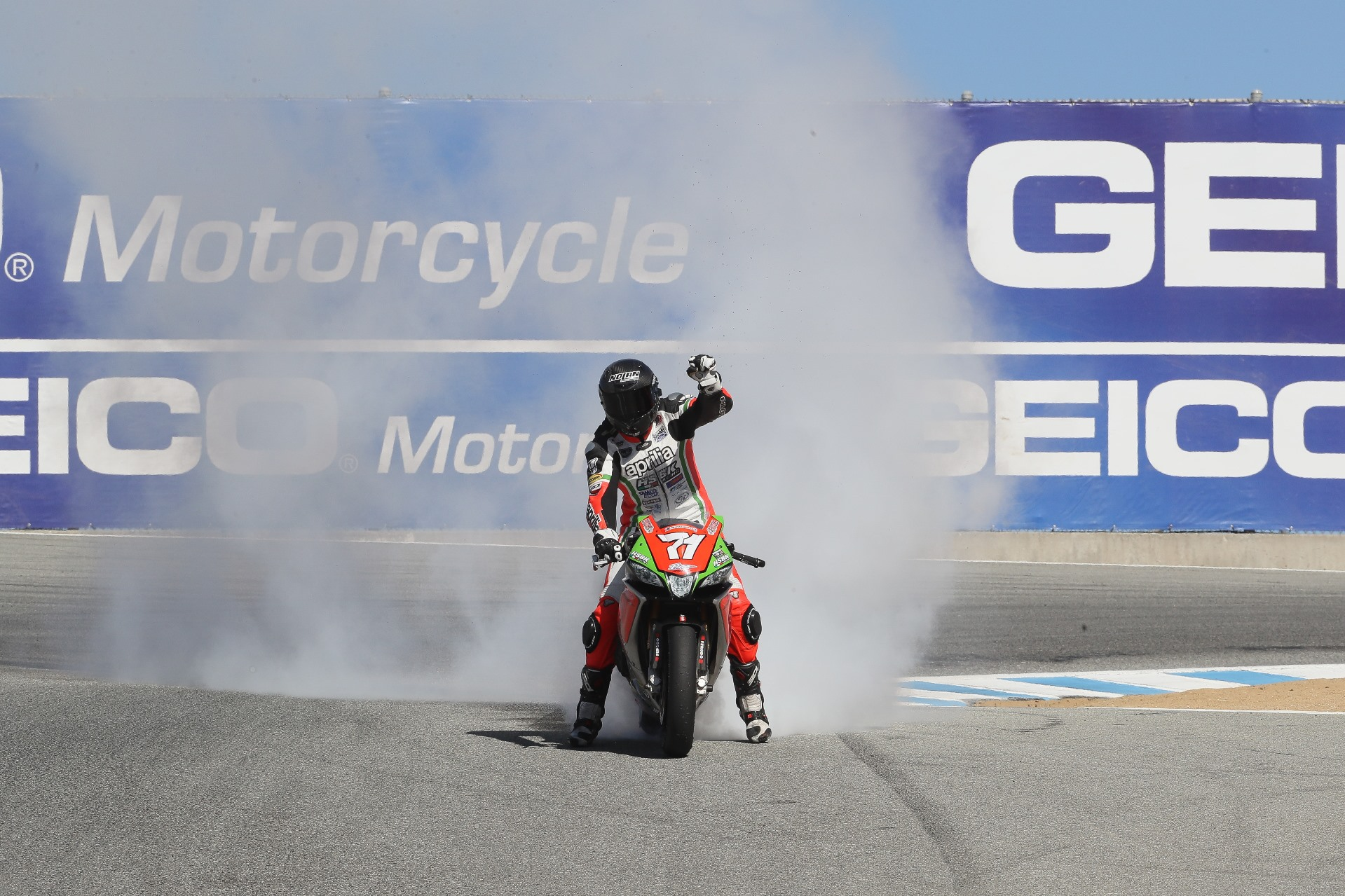 CORTI AND APRILIA HSBK LEAVE LAGUNA WITH TAINTED HARDWARE, UNNERVED SPIRITS