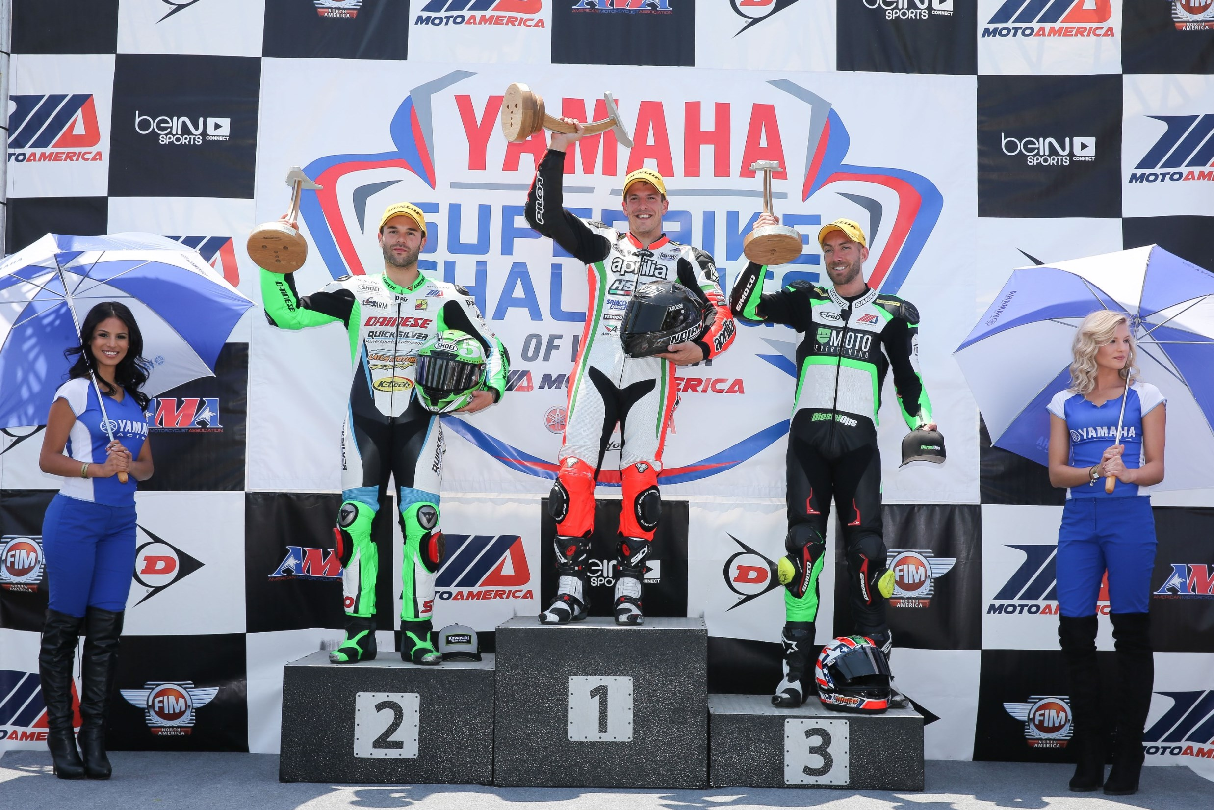 APRILIA HSBK RACING FORGES ON IN VIRGINIA, MAINTAINS LEAD IN SUPERSTOCK 1000