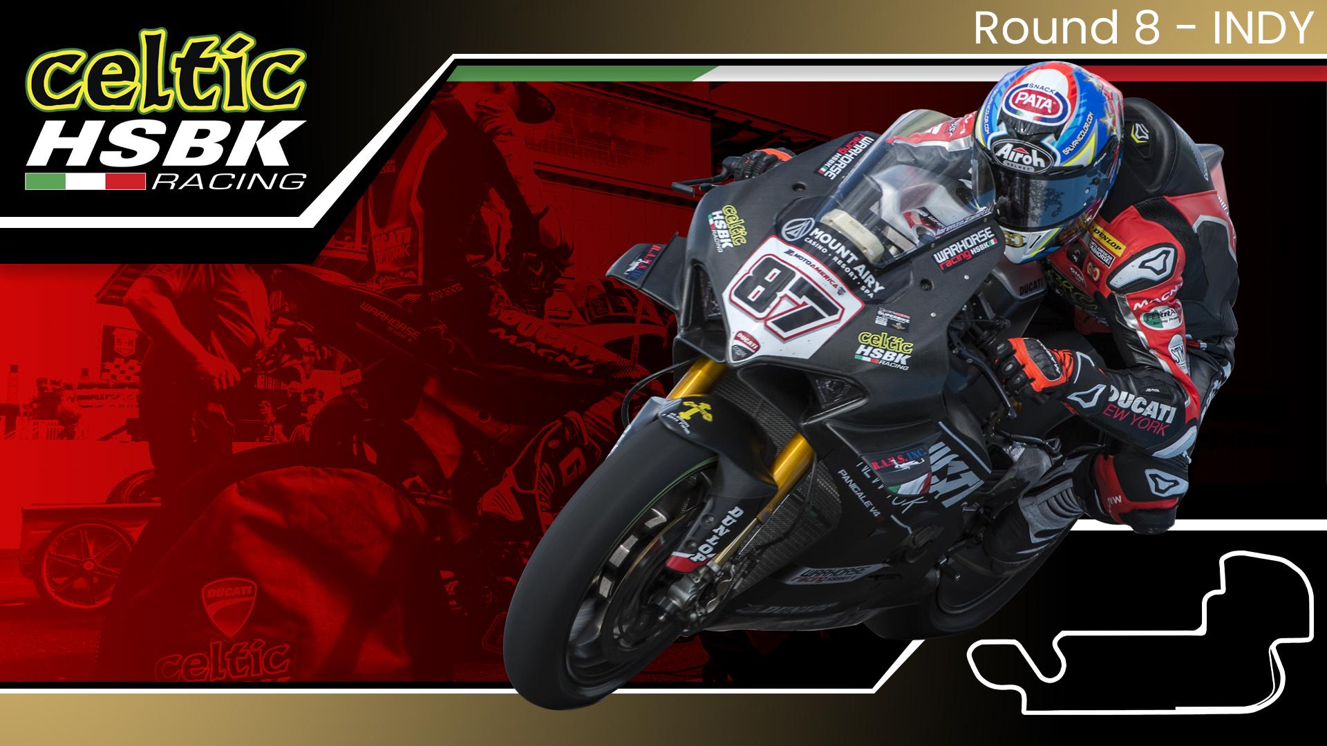 Celtic HSBK Racing scores first Ducati SBK win since 2010 (2020 MotoAmerica Round 8)