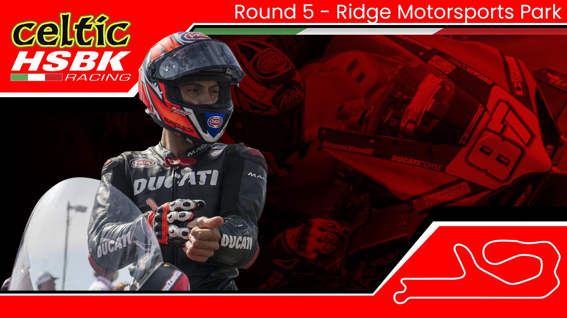 Lorenzo Zanetti joins Celtic HSBK Racing at The Ridge (2020 MotoAmerica Round 5)