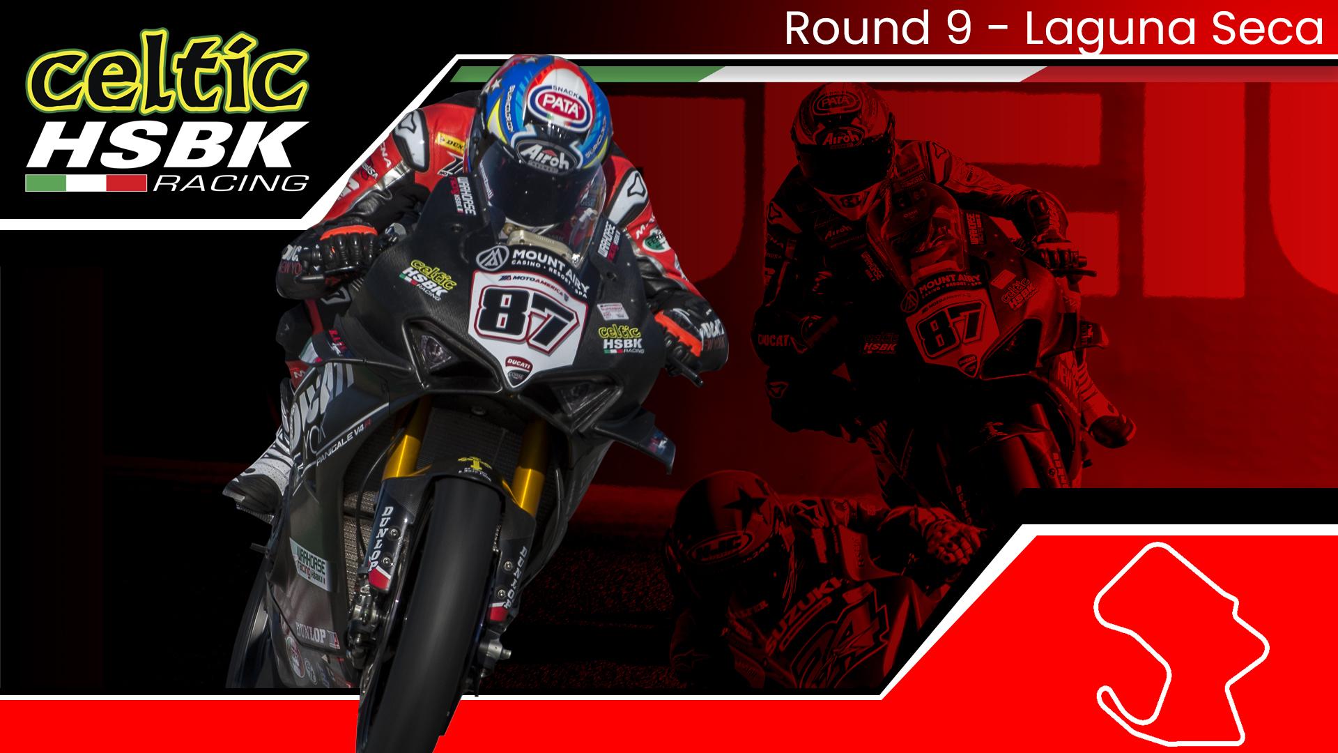 Celtic HSBK Racing Closes Season With 3 Podiums at Laguna on Ducati SBK (2020 MotoAmerica Round 9)