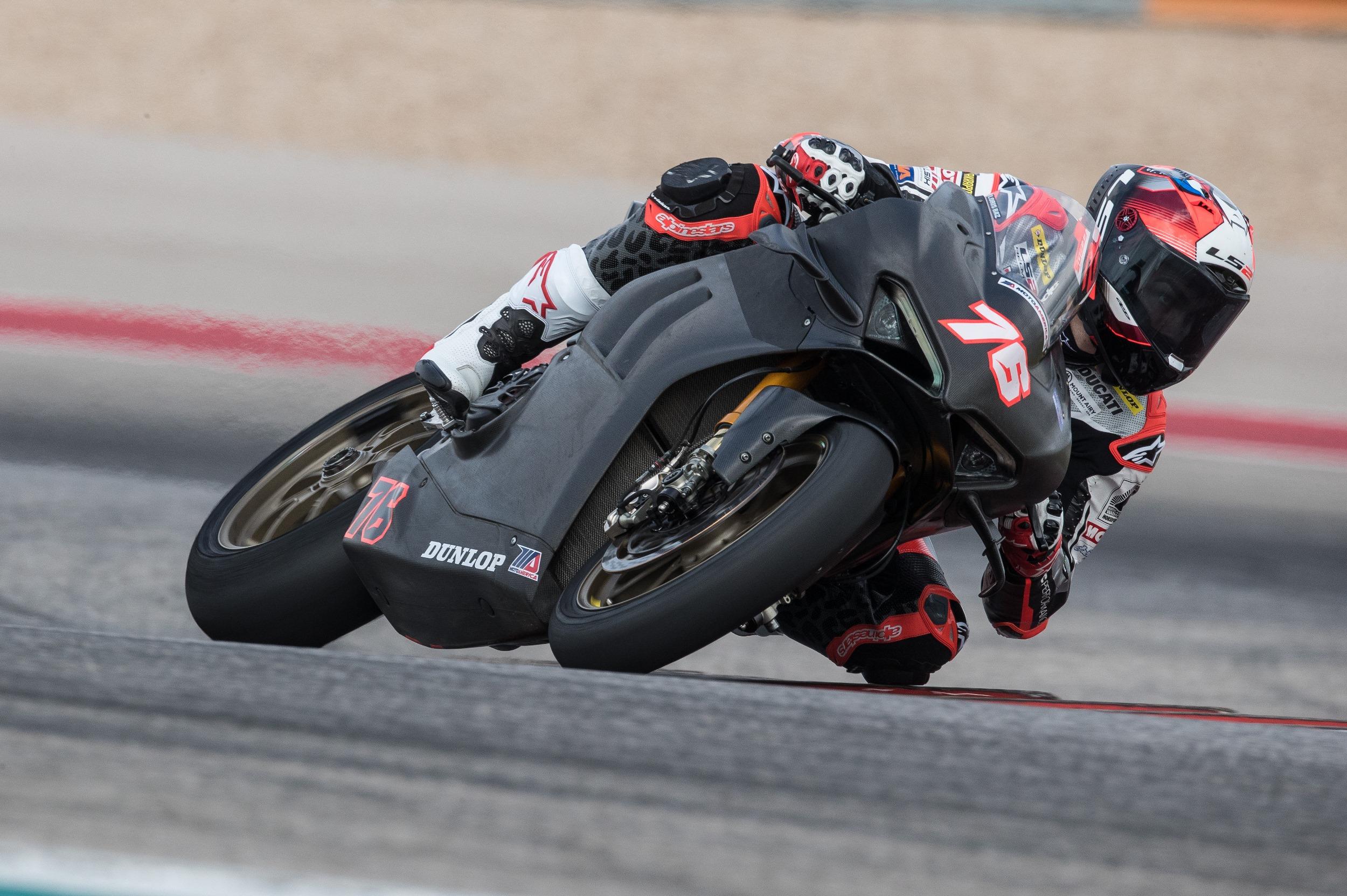 Warhorse HSBK Racing Ducati New York Team Concludes Preseason Testing
