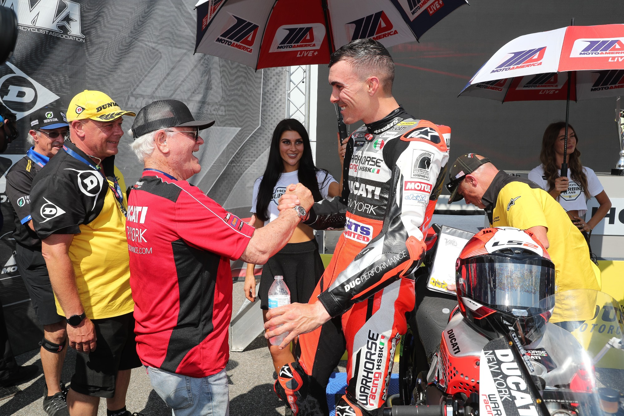 Warhorse HSBK Racing Ducati Team Nabs First Podium of Season at VIR MotoAmerica