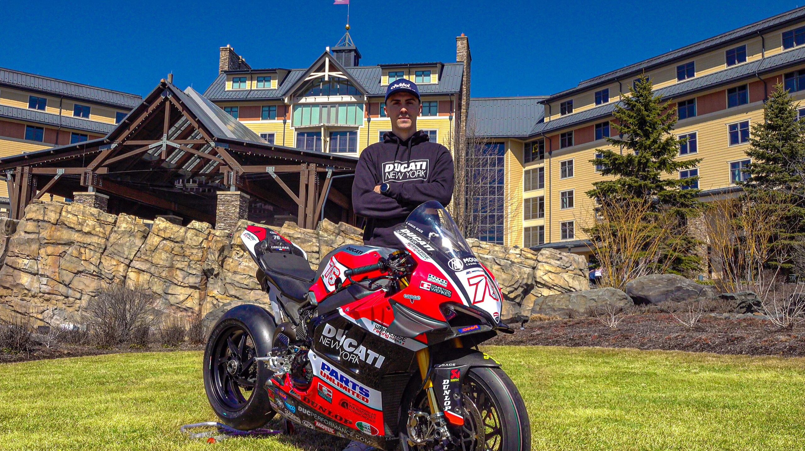 Warhorse HSBK Racing Ducati New York Confirms Parts Unlimited and Mount Airy Casino Resort as Key Sponsors